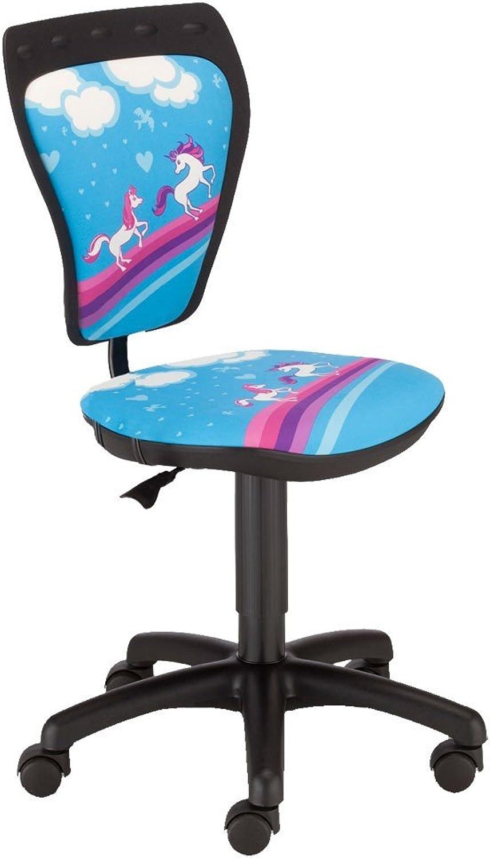 NOWY STYL Schreibtischstuhl Kinderzimmer Kinder Mdchen Pferde Drehstuhl Ministyle TS22 RTS Pony
