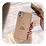 Euiwq 韓国の白い犬IphonexsMax携帯電話ケースソフト11XXRかわいい6S女性78plusに適しています-nai cha se Teddy-iphone11