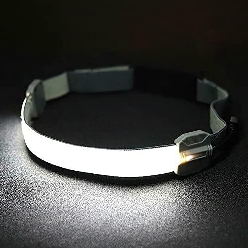 LIZHOUMIL Linterna frontal recargable por USB, COB + LED, resistente al agua, ligera y portátil, para pesca, camping, senderismo y caza