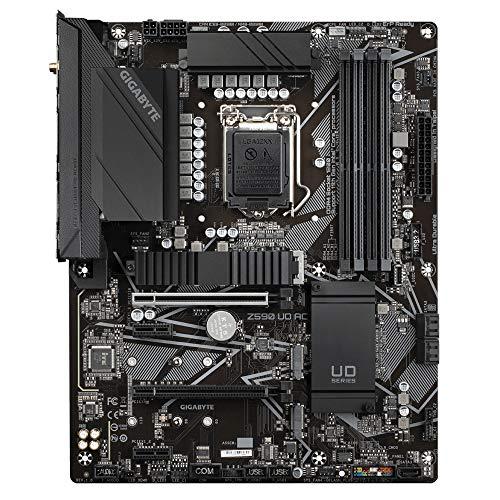 Scheda madre Gigabyte Z590 UD AC ATX per CPU Intel LGA 1200