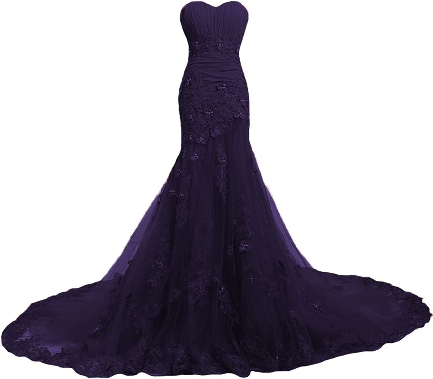 W.W Mermaid Lace Black Red Women Vintage Wedding Dresses colors Gothic Bridal Gowns