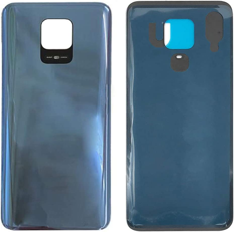 Back Battery Cover Rear Door Housing Case Replacement for Xiaomi Redmi Note 9S M2003J6A1G / Redmi Note 9 Pro M2003J6B2G 6.67