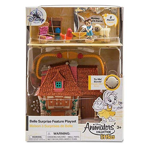 Coleccion Oficial de animadores de Disney Littles Beauty & The Beast Belle...