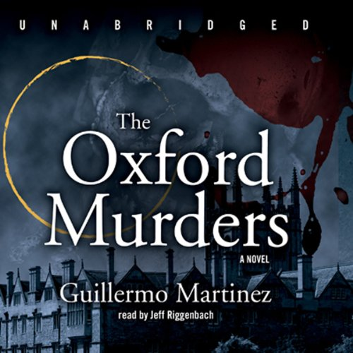 The Oxford Murders audiobook cover art