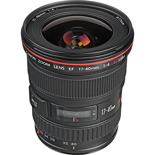 Canon EF 17-40mm F/4 L USM Lens 8806A002 - (Renewed)