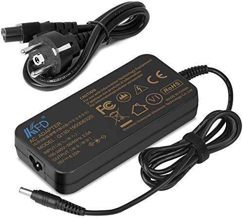 KFD 120W Adaptador Cargador Portátil para Samsung 15.6' Notebook Odyssey Series 7 All in One PC NP800G5M DP700A3B DP700A3D NP700G7C PA-1121-98 AD-12019G, IV Book 8 NP870Z5G All-in-One 19V 6,32A