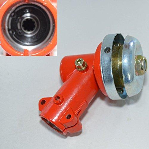 Winkelgetriebe Getriebe Motorsense Freischneider 9 Zahn 26mm Rohr Fadenkopf