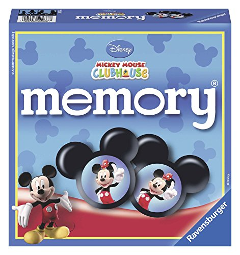 Ravensburger Disney Mickey Mouse Club House - Juego de memoria y puzzle , color/modelo surtido