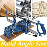 Scie à onglet manuelle, scie à main, scie à angle manuelle, scie manuelle pour bois, scie manuelle
