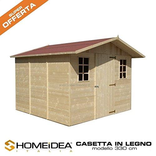 Home Idea Italia, Casette in legno offerta completa (330 x 318 Cm)