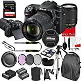 Nikon D7500 DSLR Camera Kit with 18-140mm VR Lens   Built-in Wi-Fi   20.9 MP CMOS Sensor   SnapBridge Bluetooth Connectivity   Extreme Speed 64GB Mempry Card (27pc Bundle)