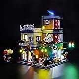 BRIKSMAX Kit di Illuminazione a LED per Lego Creator Negozio degli Animali And Café,Compatibile con Il Modello Lego 31097 Mattoncini da Costruzioni - Non Include Il Set Lego.