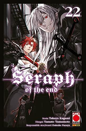 Fumetto Seraph of The End N° 22 - Arashi 37 - Planet Manga - Panini Comics – Italiano