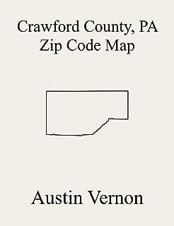 Crawford County, Pennsylvania Zip Code Map: Includes Cambridge Springs, Conneautville, Townville, Greenwood, Hayfield, North Shenango, Oil Creek, East ... Randolph, Richmond, Rome, East Fairfield, B