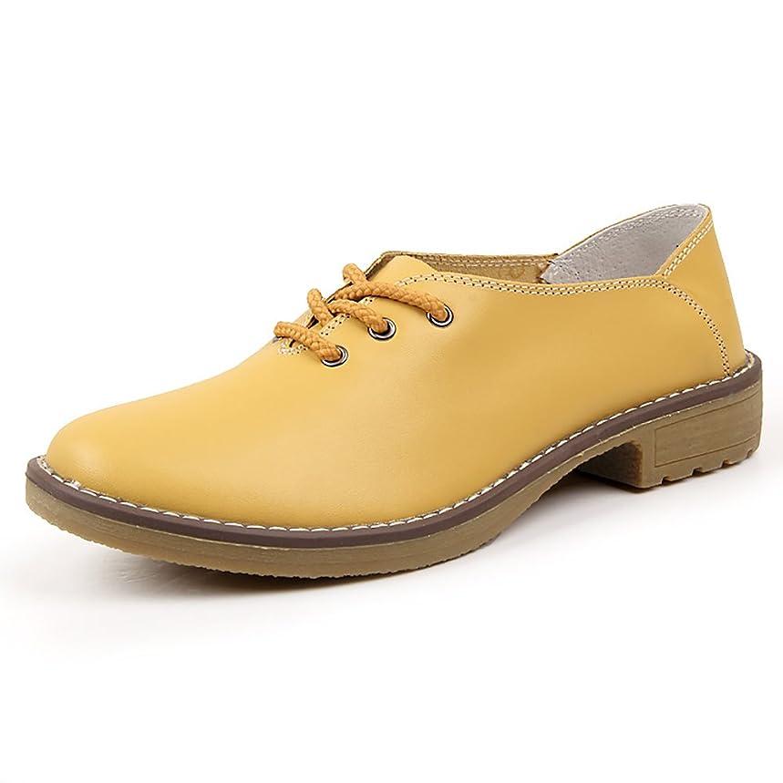 嫌がらせ精査床を掃除する[リーダー] 本革 極めて柔軟 オックスフォードシューズ おじ靴 革靴 レザーシューズ レディース