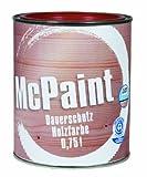 McPaint Wetterschutzfarbe – Holzfarbe für außen auf Acryl Basis mit