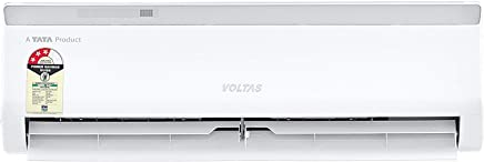 Voltas 1 Ton 3 Star Split AC (Copper, 123EZA, White)