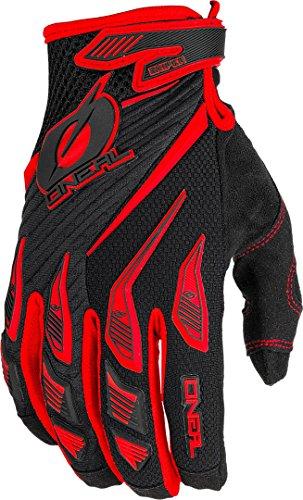 O'Neal Sniper Elite Glove Guantes para Bicicleta, Mtb, Descenso, Dh Y Mx, M, Rojo