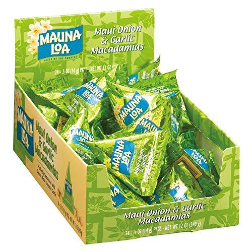 マウナロア マカデミアナッツ オニオンガーリック ミニパック 24袋セット