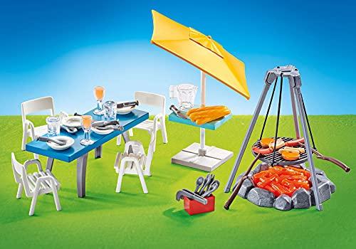 Playmobil 9818 Grillplatz mit Sitzgruppe (Folienverpackung)