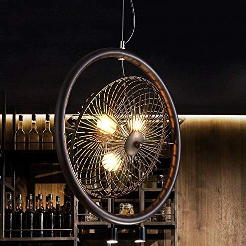 Deckenventilatoren Mit Beleuchtung,Amerikaner Retro Kreativ Deckenventilatorlampe,Bar Cafe Restaurants Elektrische Lüfterlicht,Deckenventilator A 16inch