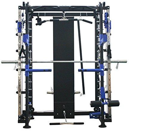 Maxxus Multipress 10.1 Station de Musculation Universelle –Power Cage à Squat -Barre d'Haltère...