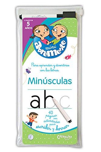 Mini Abremente. Para aprender y divertirse con la letra. Minúsculas (INFANTIL)