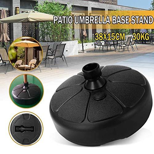Parapluie Base Portable Durable Jardin Parasol extérieur Parasol Base de guéridon Patio Plage Jardin Parasol Accessoires Sun Shelter Sac Sable