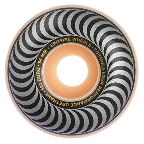 Spitfire Skateboard Wheels Formula Four 101D 54mn Classics Shape Wheels