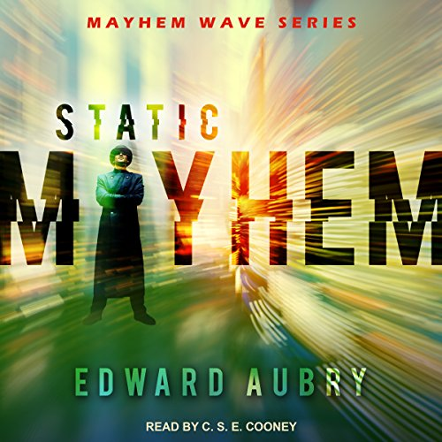 Static Mayhem audiobook cover art