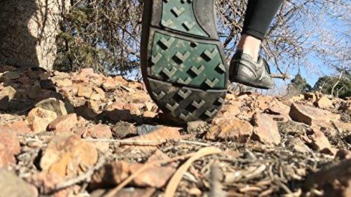Xero Shoes TerraFlex Trail Running Hiking Shoe - Minimalist Zero-Drop Lightweight Barefoot-Inspired - Men, Black, 12 D(M) US