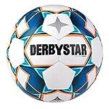 Derbystar Kinder Stratos S-Light, 1038400167 Fußball, Weiss blau orange, 4