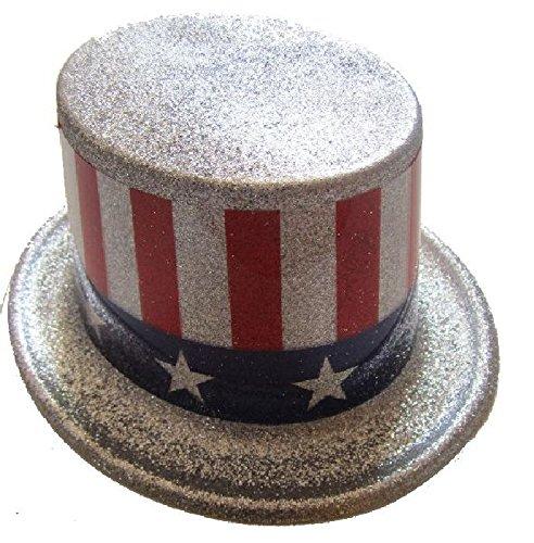 Mondial-Fete - 4 Hauts de Formes américain Glitter