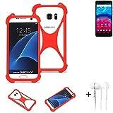 K-S-Trade® Mobile Phone Bumper + Earphones For Archos Core