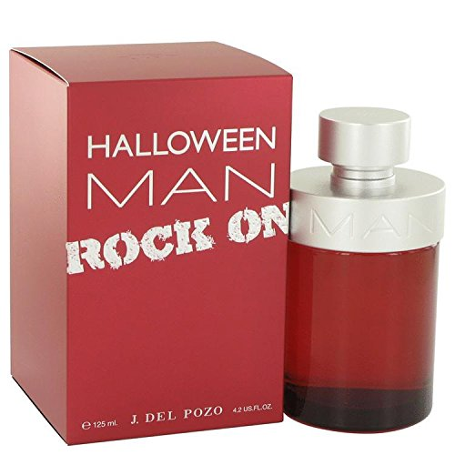 Halloween Man Rock On by Jesus Del Pozo Eau De Toilette Spray 4.2 oz for Men - 100% Authentic by Jesus del Pozo