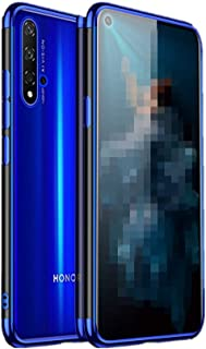 Huawei nova 5T ケース ストラップホール Huawei nova 5T クリアケース 6.26インチ 薄 Huawei nova 5T 背面ケースHuawei nova 5T 透明ソフトケースHuawei nova 5T カバー Nove5T-DD-91115 (ブラック)