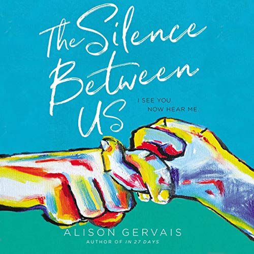 The Silence Between Us audiobook cover art