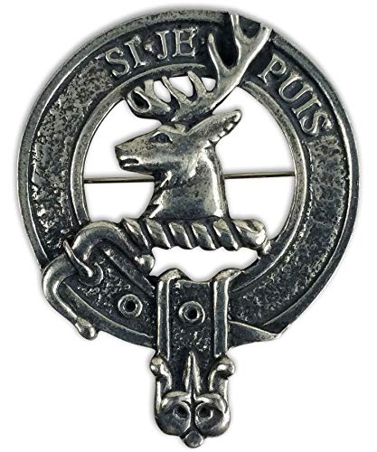 The Celtic Croft Colquhoun Family Clan Crest Badge/Brooch