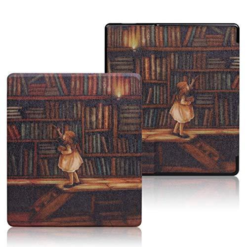 Étui en Cuir pour Kindle Oasis (9e et 10e générations Uniquement - ne Convient Pas aux Kindle des générations précédentes)