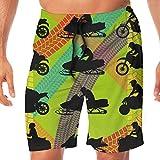 Slips Natación Hombre,Bicicleta De Motocross De Secado Rápido...