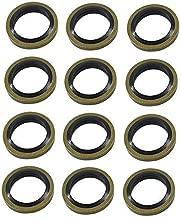 labwork New 12mm Seals Fuel Line Sealing Washer for Cummins 12V 24V 5.9 3963983 (12)