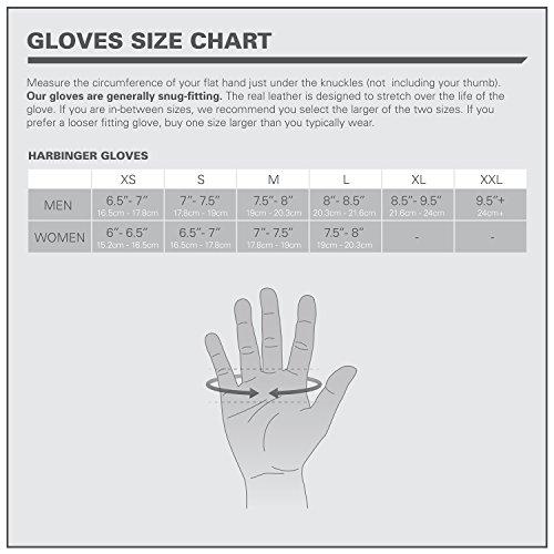 Harbinger Uni Fitnesshandschuhe Pro Wrist Wrap, schwarz, M, 19140M - 5