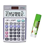 カシオ 本格実務電卓 JS-TK20 セット 検算・税計算 ジャストタイプ 12桁