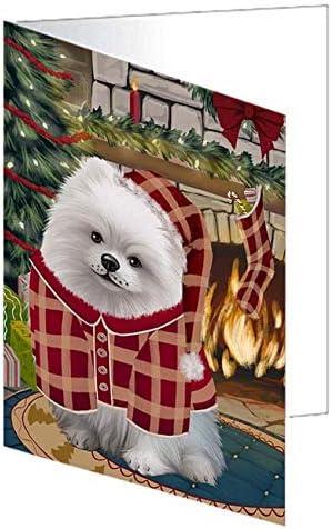 The Stocking Ranking TOP2 Ranking TOP10 was Hung Pomeranian GCD74201 Dog Greeting Card 20