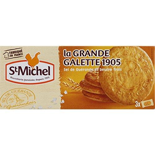 St Michel La Grande Galette 1905 Au Sel De Guérande Et Beurre Frais - ( Prix Par Unité ) - Envoi Rapide Et Soignée