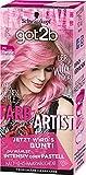 got2b Farb/Artist Haarfarbe, 093 Flamingo Pink, 3er Pack (3 x 113 ml)