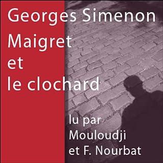 Couverture de Maigret et le clochard