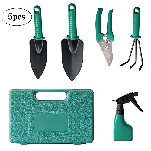 Ensemble d'outils de Jardin en Acier Inoxydable avec Sac de Rangement