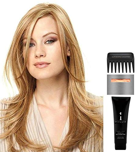 Bundle - 5 items: Scene Stealer by Raquel Welch Wig, Christy's Wigs Q & A Booklet, Wig Shampoo, Wig Cap & Wide Tooth Comb - Color: RL1216