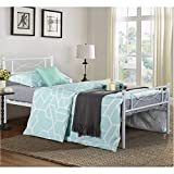 SimLife Metal Bed Frame Solid 6 Legs Two...